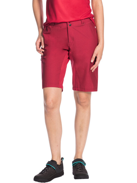 VAUDE Ligure Shorts Women red cluster